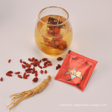 China goji ginseng men enhancer tonic herbal sex tea for men